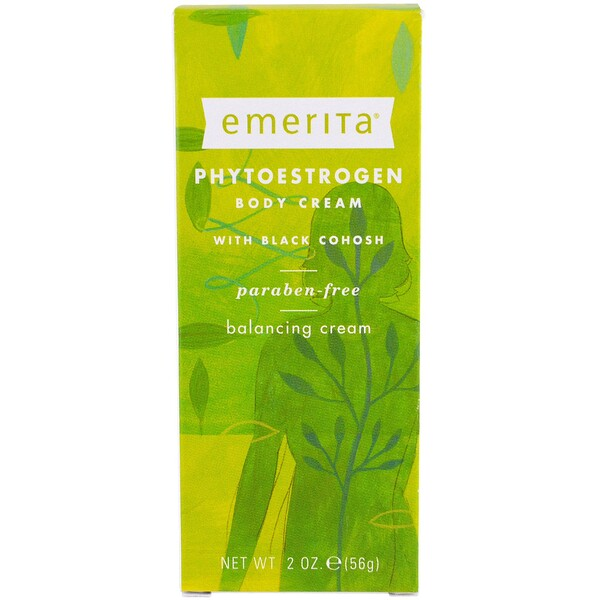 Emerita, Phytoestrogen, Body Cream, 2 oz (56 g)