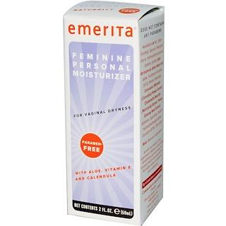 Emerita, Feminine, Personal Moisturizer, 2 fl oz (59 ml)