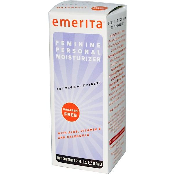 Emerita, 女性私密保濕凝膠,2液體盎司,59毫升