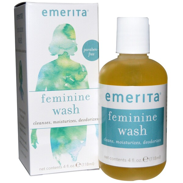 Emerita, Feminine, Wash, 4 fl oz (118 ml)