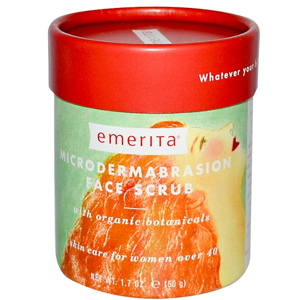 Emerita, Microdermabrasion Face Scrub, 1.7 oz (50 g) (Discontinued Item)
