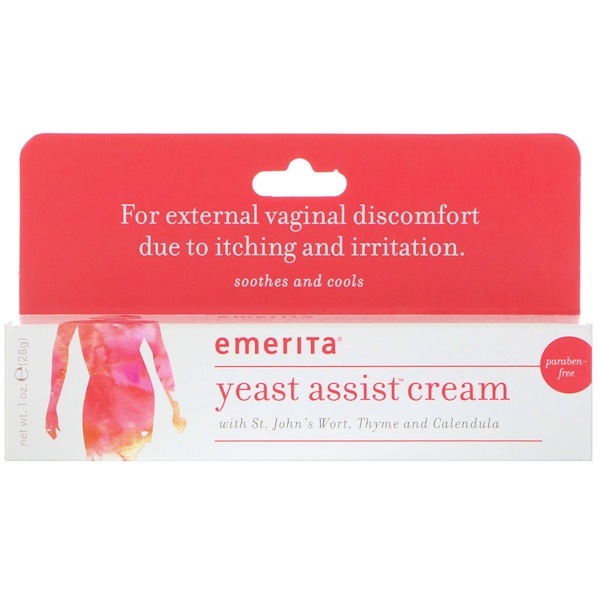 Yeast Assist Cream, 1 oz (28 g)