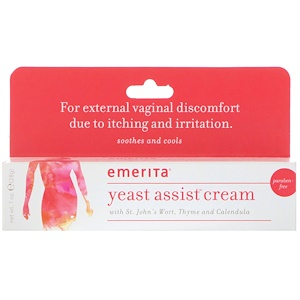 Эмерита, Yeast Assist Cream, 1 oz (28 g) отзывы