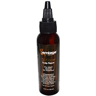 Emtage Beauty, SILKtage Scalp Repair, Pre-Wash Healing Oil Treatment, 2.0 fl oz (60 ml)