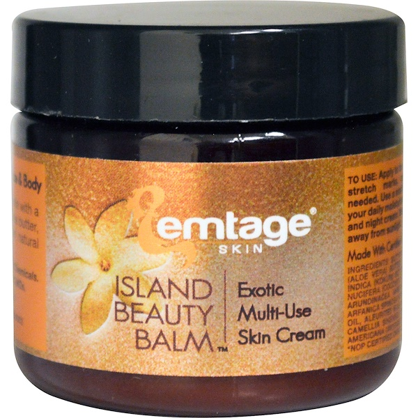 Emtage Beauty,  Island Beauty Balm, 2 oz (Discontinued Item)