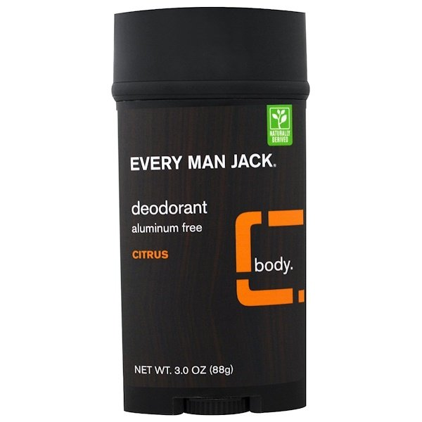 Every Man Jack, Deodorant, Citrus, 3.0 oz (88 g) (Discontinued Item)