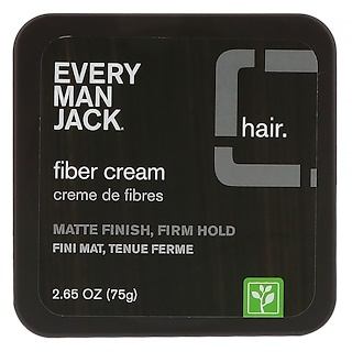 Every Man Jack, Fiber Cream, 2.65 oz (75 g)