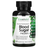 Emerald Laboratories, Blood Sugar Health, 60 Vegetable Caps