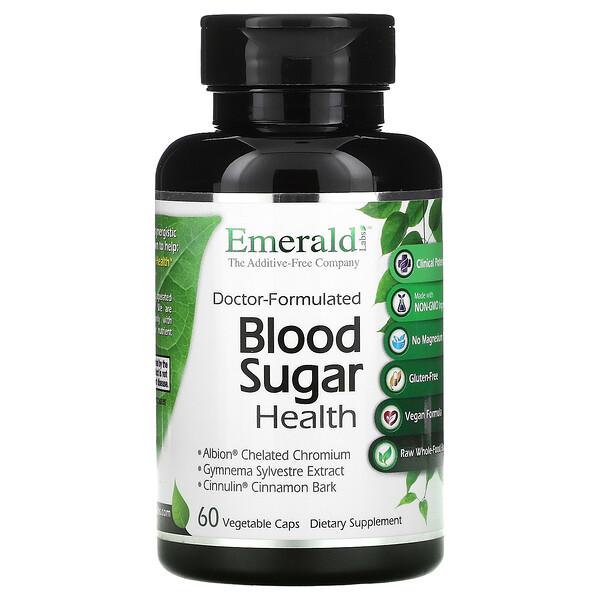 血糖健康配方,60 粒素食膠囊