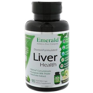 Emerald Laboratories, Liver Health, 90 Vegetable Caps