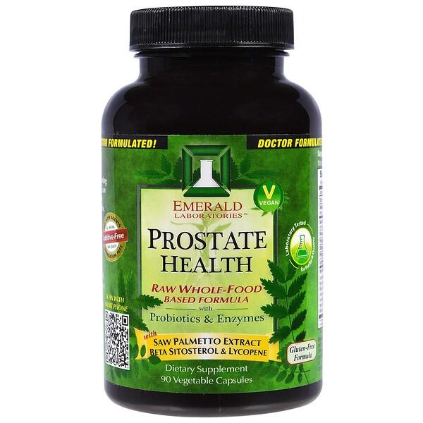 Emerald Laboratories, Prostate Health, 90 Veggie Capsules (Discontinued Item)