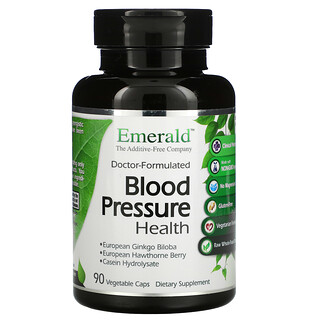 Emerald Laboratories, صحة ضغط الدم، 90 كبسولة نباتية