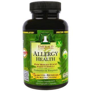 Emerald Laboratories, アレルギーの健康、ベジキャップ120錠
