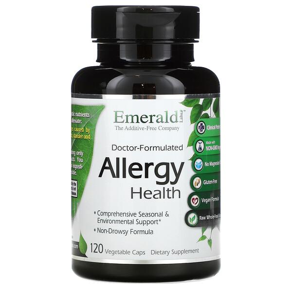Doctor-Formulated Allergy Health, 120 Vegetable Caps