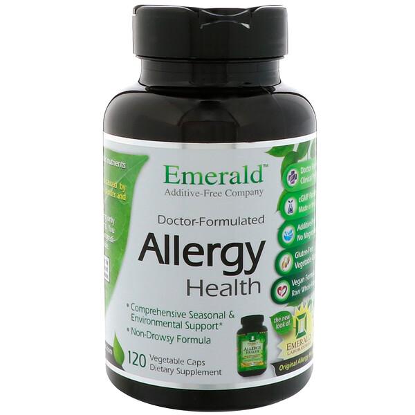 Emerald Laboratories, Allergy Health, 120 Vegetable Caps (Discontinued Item)
