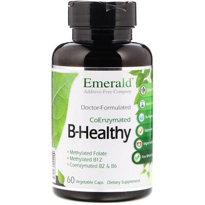 Emerald Laboratories B-Healthy, 60 Vegetable Caps