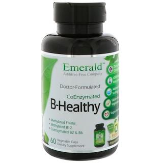 Emerald Laboratories, B-Healthy, CoEnzymated, 60 Vegetable Caps