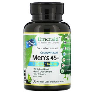 Emerald Laboratories, Coenzymated Men's 45+ 1-Daily Multi, 60 Vegetable Caps