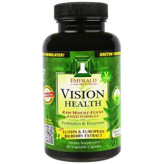 Emerald Laboratories, Vision Health, 60 Veggie Caps