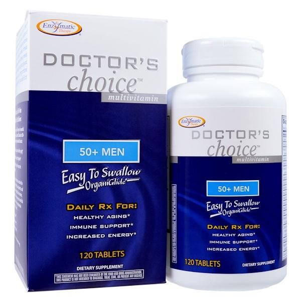Enzymatic Therapy, 50歲以上男士專用複合維生素, 120片