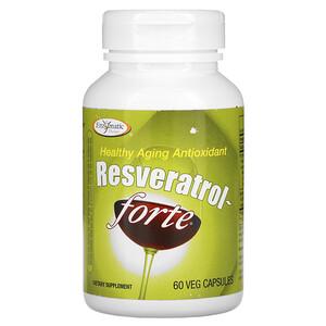 Энзайматик Терапи, Resveratrol~Forte, 125 mg, 60 Veg Capsules отзывы покупателей
