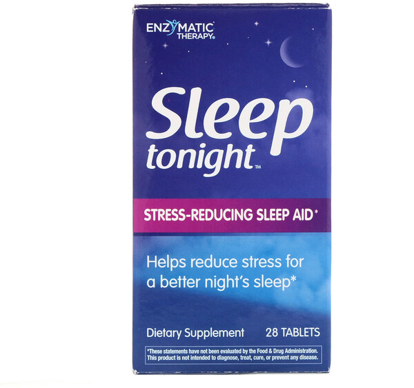 Enzymatic Therapy, Sleep Tonight, 28 Tablets