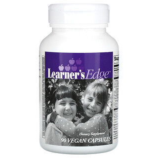 Enzymatic Therapy, Learner's Edge, 90 Vegan Capsules