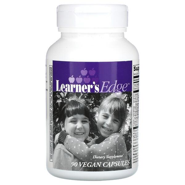 Learner's Edge, 90 Vegan Capsules
