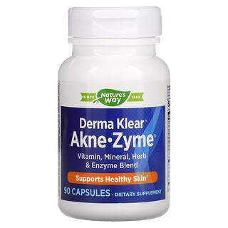 Enzymatic Therapy, Derma Klear Akne-Zyme, 90 Capsules