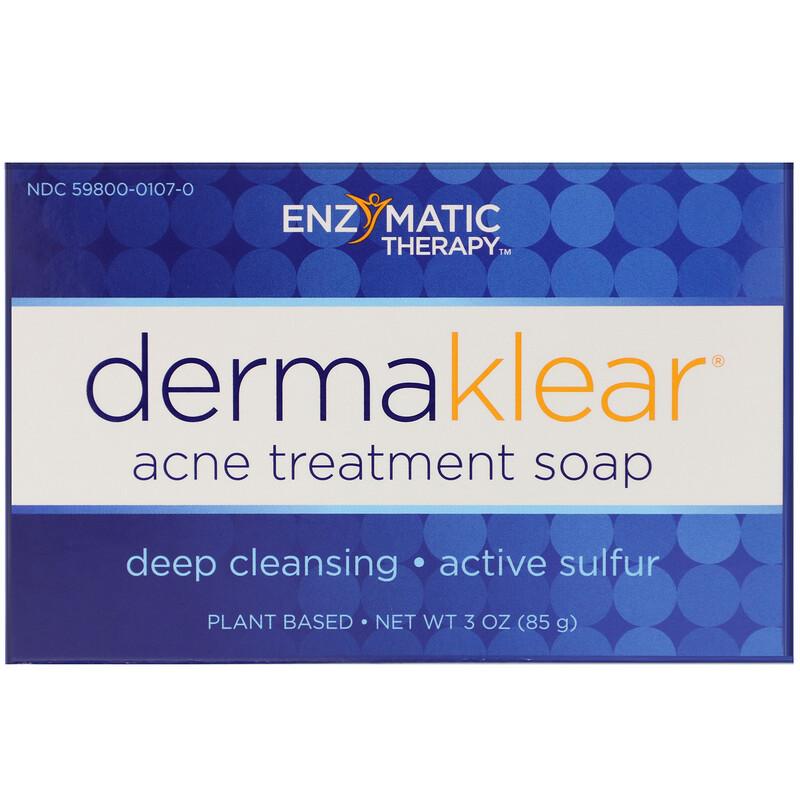DermaKlear Acne Treatment Soap, 3 oz (85 g)