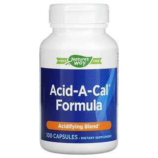 Enzymatic Therapy, Acid-A-Cal Formula, 100 Capsules