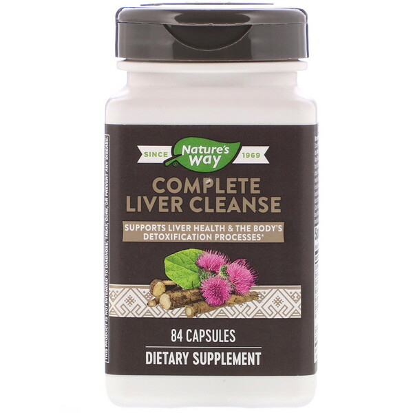 Nature's Way, Complete Liver Cleanse, 84 Capsules