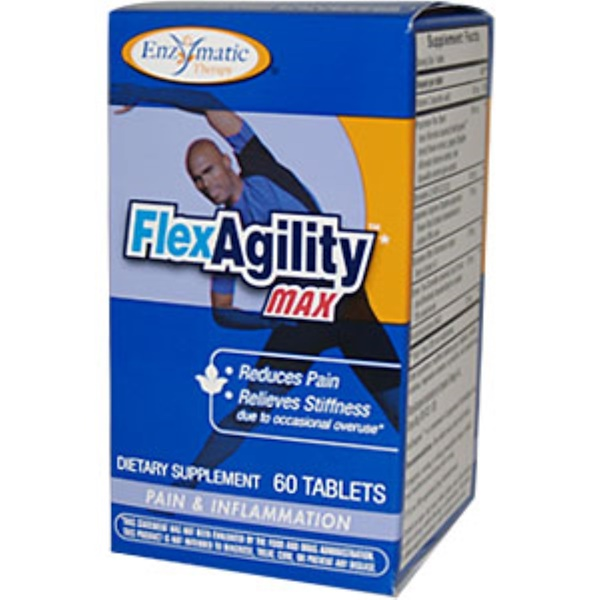 Enzymatic Therapy, Flex Agility Max, 60 Tablets (Discontinued Item)