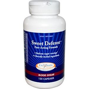 Энзайматик Терапи, Sweet Defense, Fast-Acting Formula, Blood Sugar, 120 Capsules отзывы