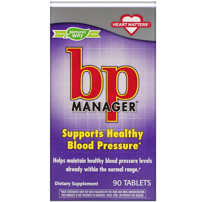 BP Manager, 90 Tablets