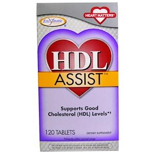Энзайматик Терапи, HDL Assist, 120 Tablets отзывы