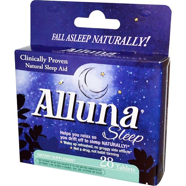 Enzymatic Therapy, Alluna Sleep, 28 Tablets (Discontinued Item)