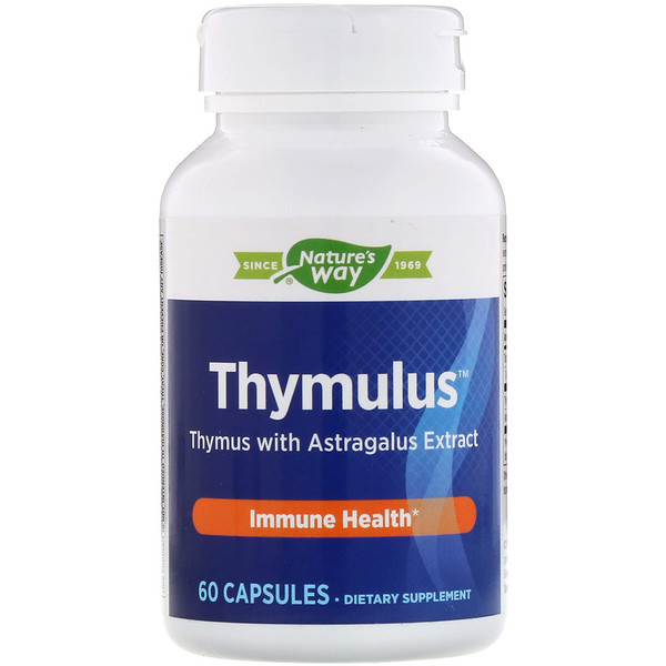 Nature's Way, Thymulus, Immune Health, 60 Capsules