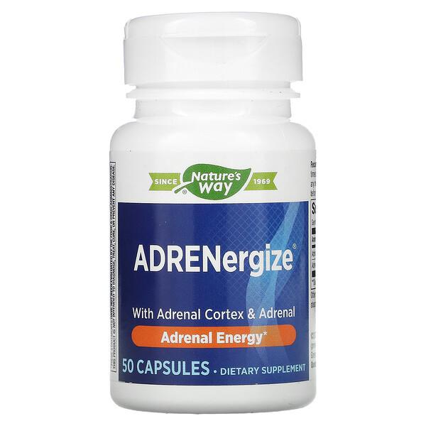 ADRENergize, Adrenal Energy, 50 Capsules
