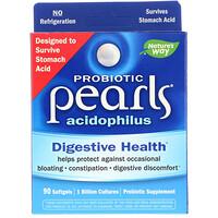 Пробиотик Pearls Acidophilus, 90 желатиновых капсул - фото