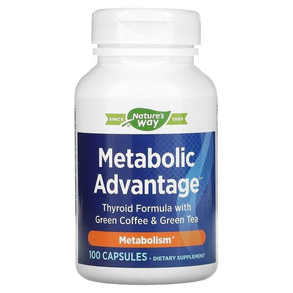 Metabolic Advantage, Metabolism, 100 Capsules