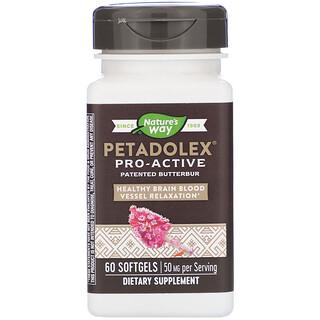 Nature's Way, PETADOLEX, Pro-Active, 50 mg , 60 Softgels