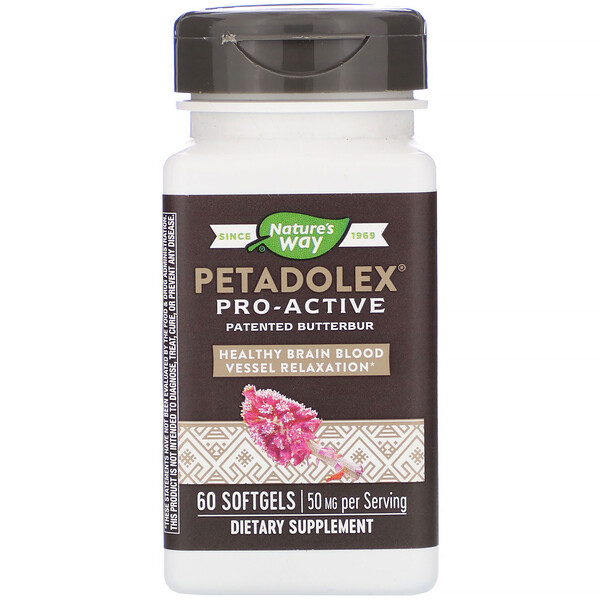 PETADOLEX, Pro-Active, 50 mg , 60 Softgels