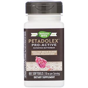 Натурес Вэй, PETADOLEX, Pro-Active, 50 mg , 60 Softgels отзывы покупателей