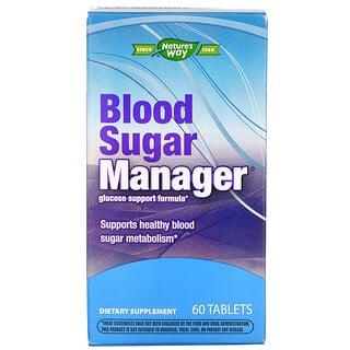 Nature's Way, Control de azúcar en sangre, 60 comprimidos