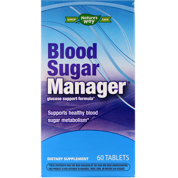 Blood Sugar Manager, 60 Tablets