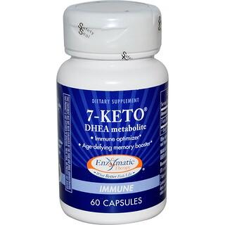 Enzymatic Therapy, 7-ケト、 DHEAメタボライト、 60カプセル