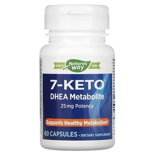 Enzymatic Therapy, 7-KETO, DHEA Metabolite, 25 mg, 60 Capsules