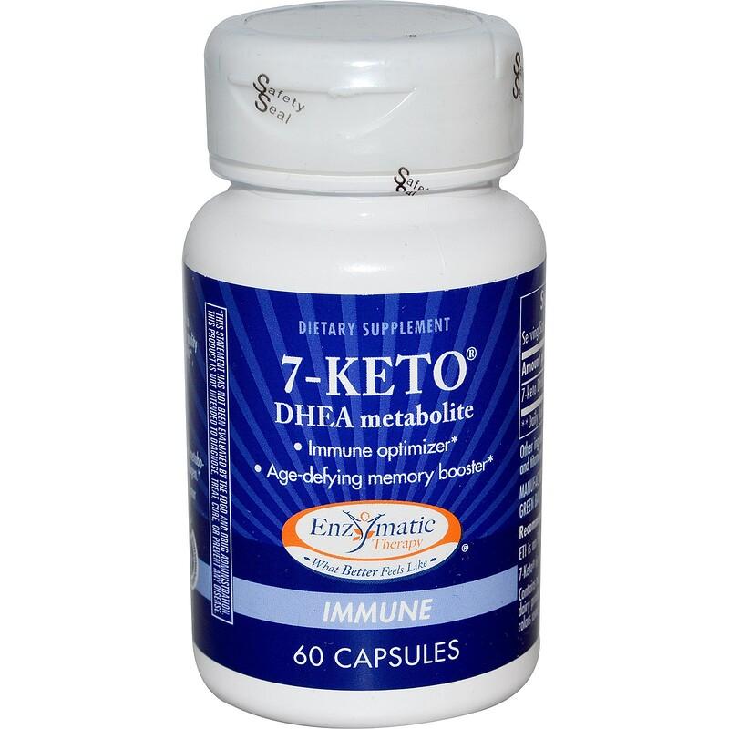 Enzymatic Therapy, 7-酮基DHEA, 60 片