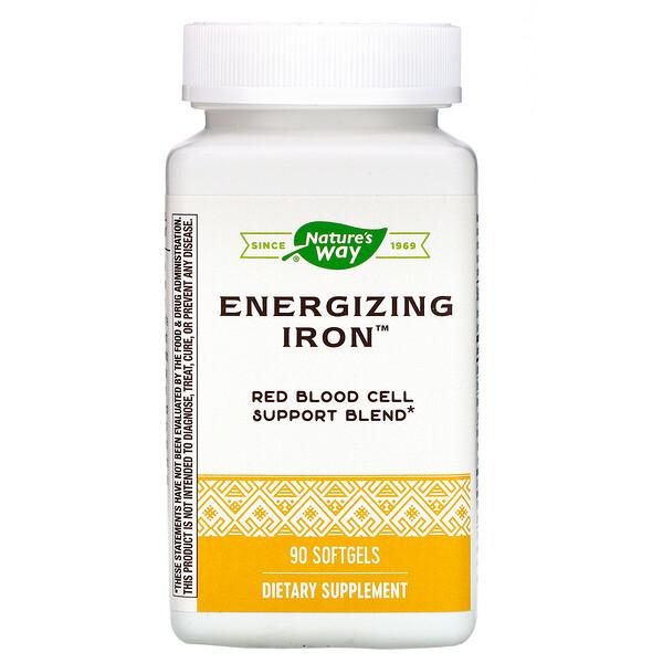 Energizing Iron, 90 Softgels